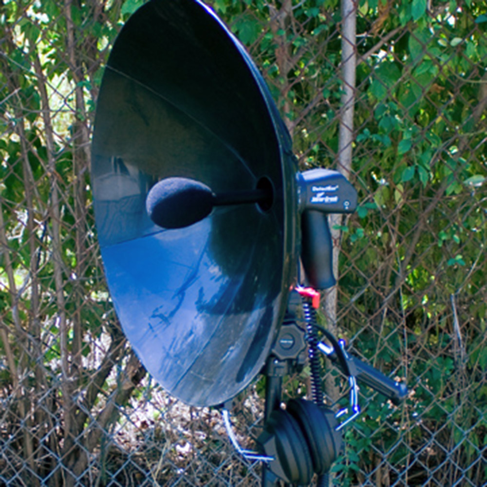 how to make a parabolic listening device